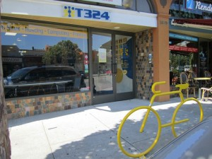 Bike bike rack outside T324