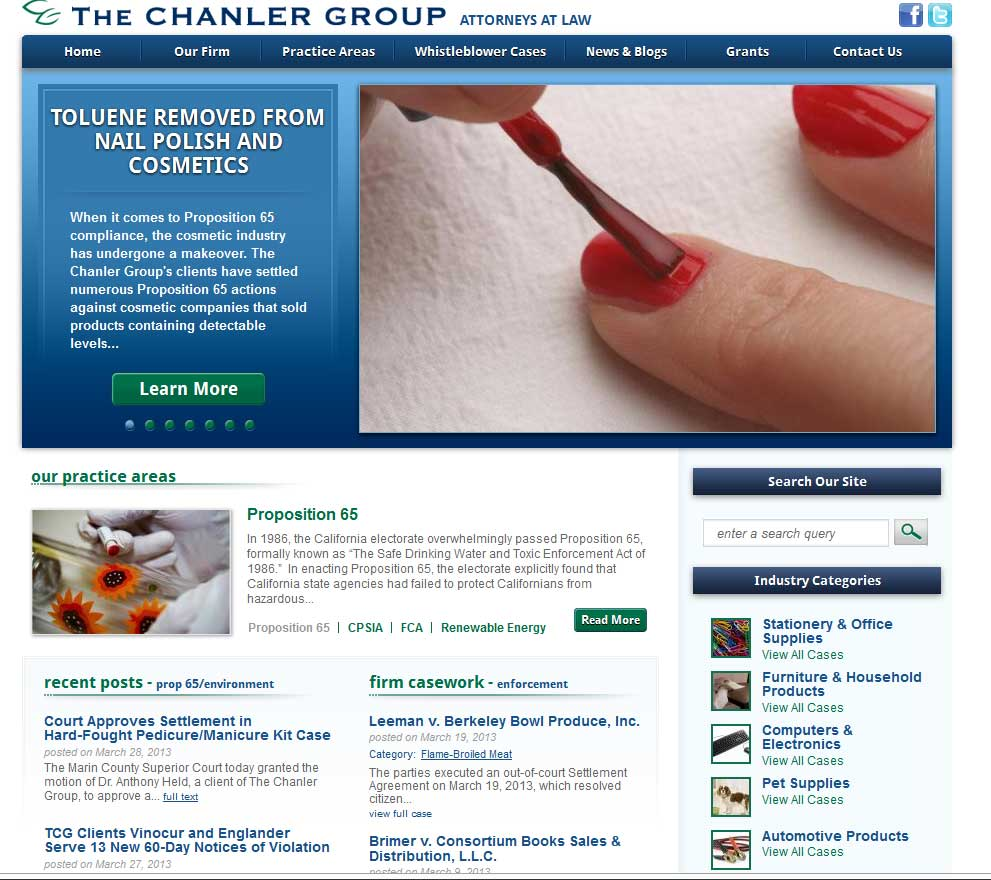 T324 announces new website for The Chanler Group