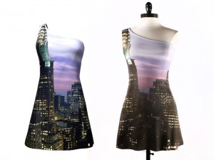 contrvct dress 3D preview and actual dress