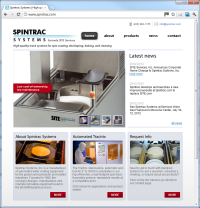 Spintrac Systems Web Site