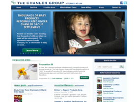 The Chanler Group website -- AFTER T324 project