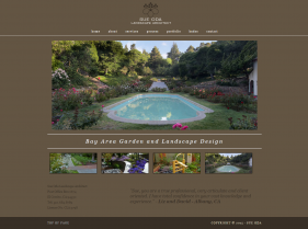 Landscape Company Website, web design, website rebuild,