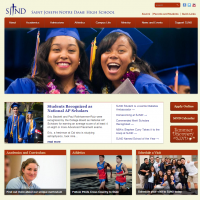 Saint Joseph Notre Dame High School Home Page