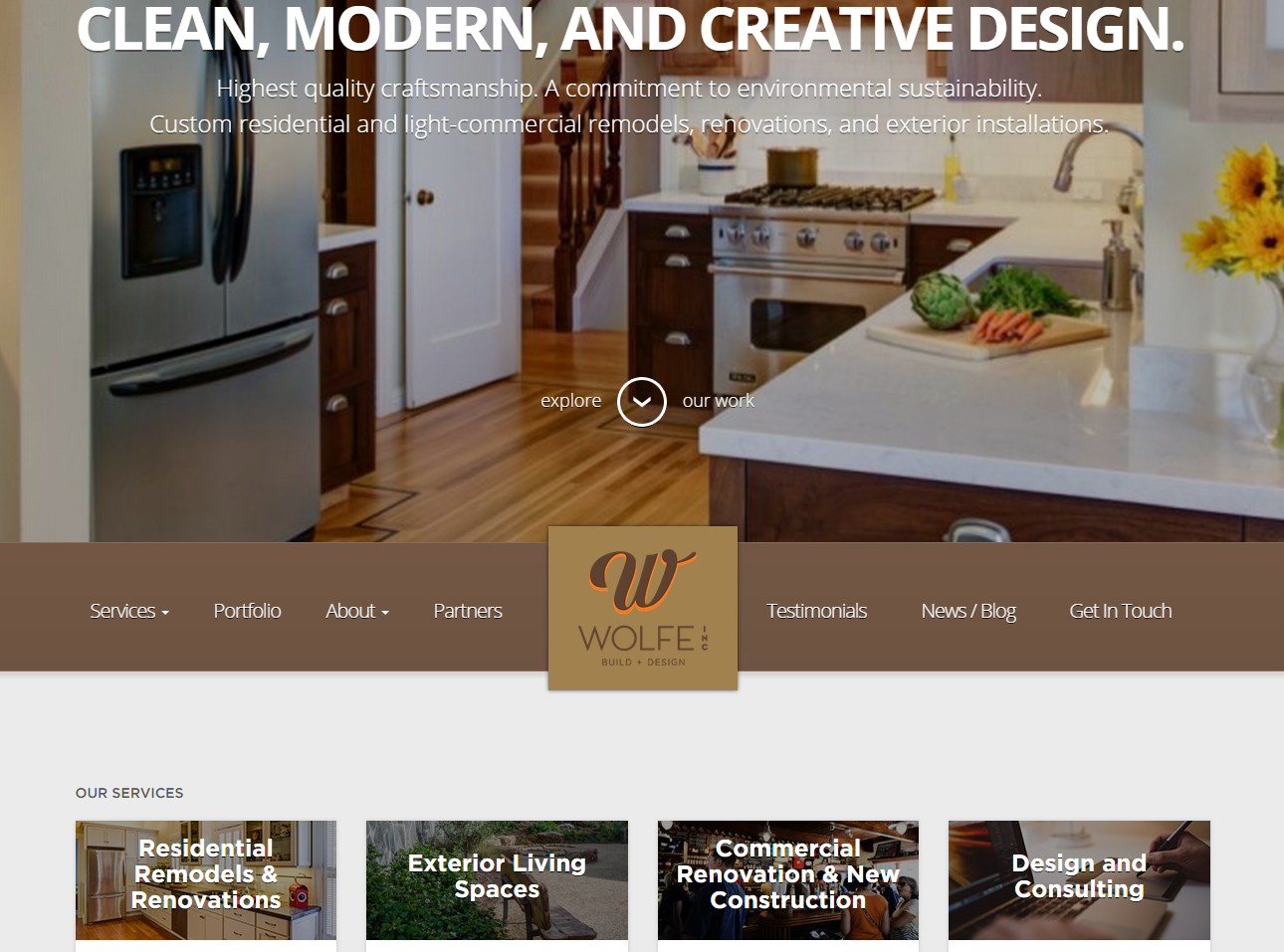 Construction websites bay area, bay area web design, web design oakland